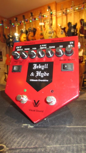 2005 Visual Sound Jekyll & Hyde Ultimate Overdrive V1 Red