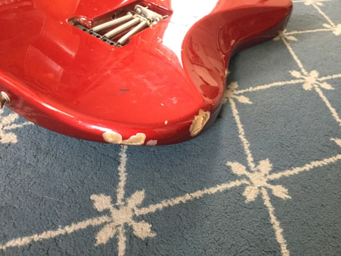 2006 Fender® 60th Anniversary Stratocaster® Red, Fair