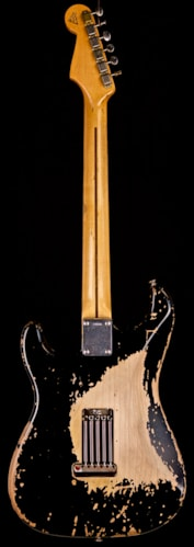 "2006 Fender® Custom Shop Eric Clapton ""Blackie"" Replica Stratocaster® Black / Relic, Mint, Call For Price!"