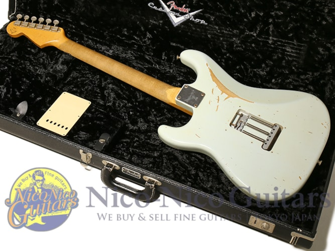 2006 Fender Custom Shop MBS Limited Builder Select '62 Stratocaster Relic Master Bui Sonic Blue