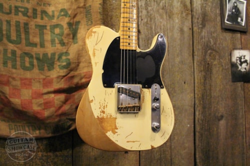 2006 Fender Masterbuilt Jeff Beck Esquire Telecaster-John English Blonde, Brand New, Original Hard
