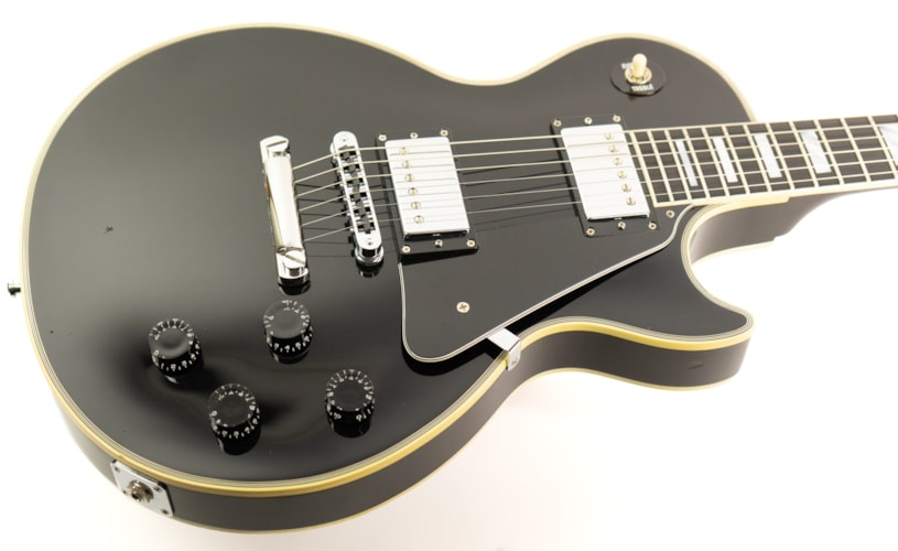 2006 Gibson Custom Shop Les Paul Custom Ebony, Good, Original Hard, $2,599.00