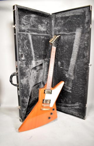 2006 Gibson Explorer Natural Mahogany Finish Electric Guitar W/ OHSC