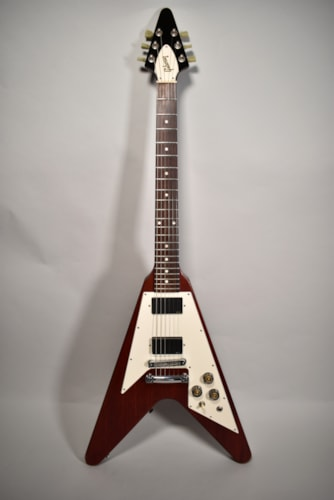 2006 Gibson Flying V Faded Cherry Finish Electric Guitar
