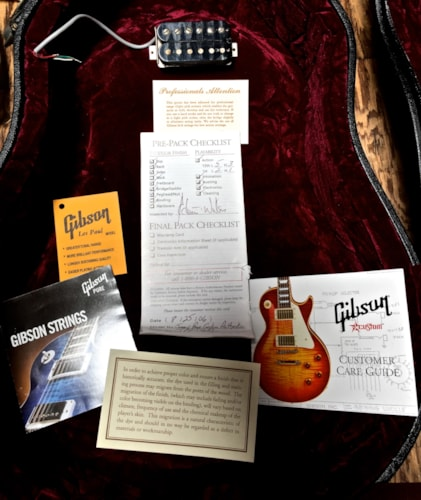 2006 Gibson Jimmy Page Custom Authentic Les Paul Sunburst, Very Good, Original Hard, $10,500.00