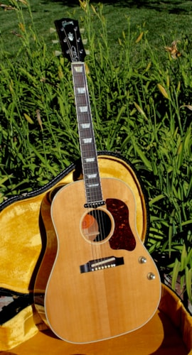 "2006 Gibson John Lennon J-160E ""Peace"" model Natural, Near Mint, Original Hard, $3,500.00"