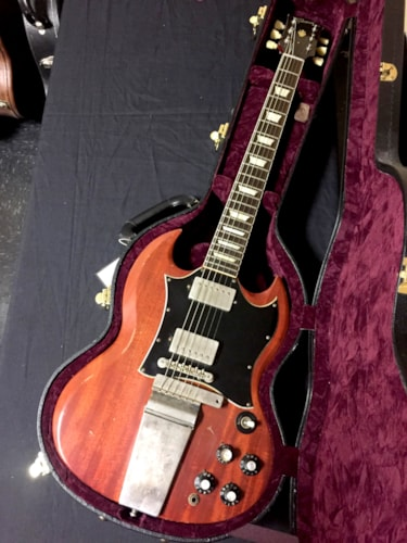 "2006 Gibson SG ""Inspired By Robby kieger"" Aged Cherry, Brand New"