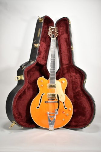 2006 Gretsch Chet Atkins G-6120 DC Nashville Orange Finish Electric Guitar w/OHSC