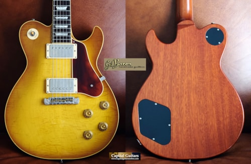 2006 Gustavsson Bluesmaster Custom '59 Tea Burst, Brazilian RW FB, 8.25 lbs.