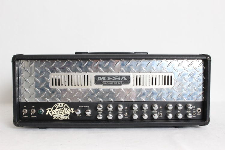 2006 Mesa Boogie Dual Rectifier 100w Solo Head Tube Head w/footswitch Excellent, $999.00