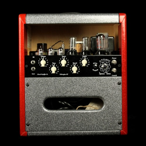 2006 Swart Used 2006 Swart Atomic Space Tone Combo Amplifier Red and Silver Sparkle Excellent, $1,445.00