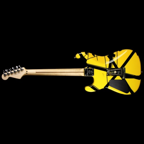 2007 Charvel EVH Art Series E Rutherford NJ Black & Yellow 2007 Excellent