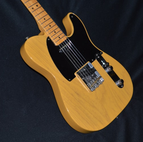 2007 Fender American Vintage '52 Telecaster Butterscotch Blonde, Near Mint, Original Hard, $1,550.00