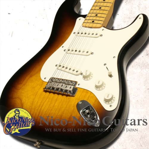 2007 Fender Custom Shop MBS '55 Stratocaster NOS Master Built by Chris Fle Sunburst
