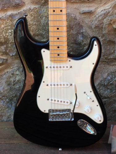 2007 Fender Stratocaster Black, Excellent, Original Hard