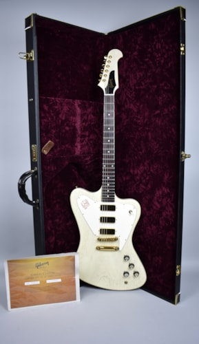 2007 Gibson Custom Shop Firebird Vll TV White Non Reverse Electric Guita White, Excellent, Original Hard, $2,095.00