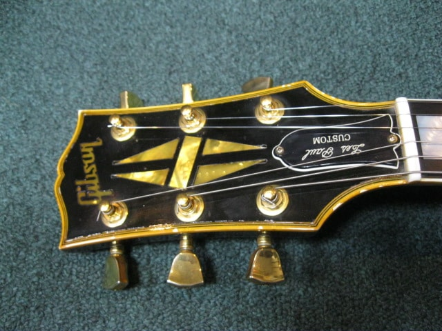 2007 Gibson Custom Shop Les Paul Custom Black Beauty Ebony, Near Mint, Hard, $2,500.00