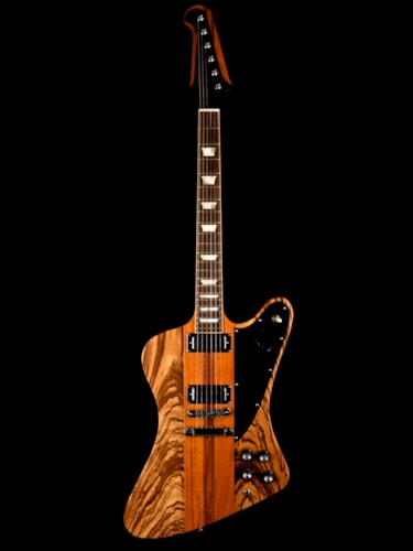 "2007 Gibson Firebird V "" Guitar of the Week"" Zebrawood Limited Edition Natural, Near Mint, Original Hard, $2,395.00"