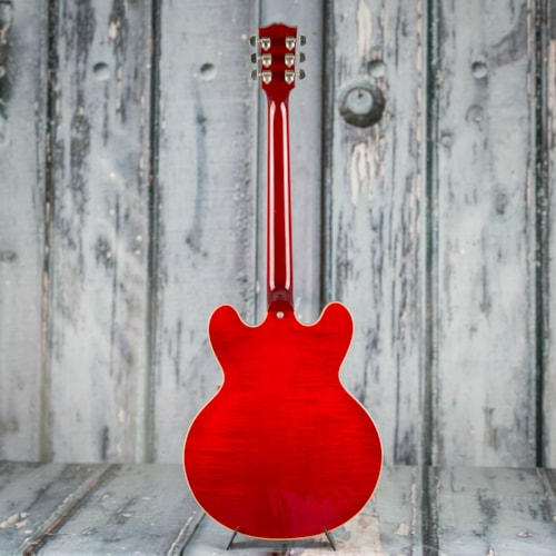 Used 2007 Gibson Memphis ES-335 Semi-Hollowbody, Cherry