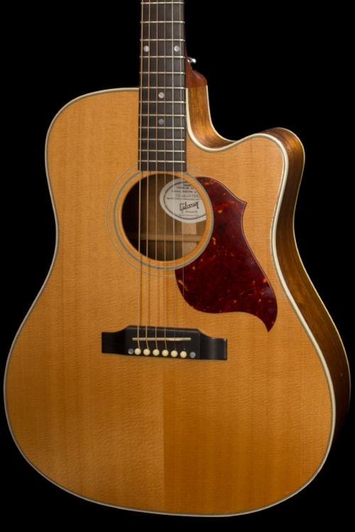 Dhl Customer Service Phone Number >> 2007 Gibson Songwriter Deluxe Natural > Guitars Acoustic ...