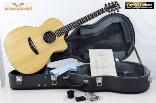 2007 Goodall Rosewood Grand Concert Cutaway Short Scale