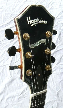 2007 HOPKINS Marquis: Extravagant Tonewoods, Feather Light! sunburst, HOLD, Excellent, Original Hard, Call For Price!