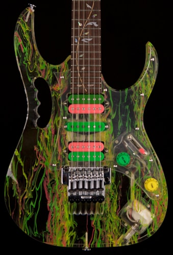 2007 Ibanez JEM 20th Anniversary  Clear Acrylic Swirl, Near Mint, Original Hard, $5,195.00