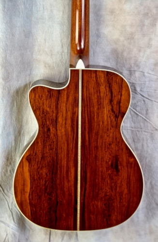 2007 Martin Laurence Juber Custom Edition OMC-28M Natural Gloss Lacquer, Mint, Original Hard