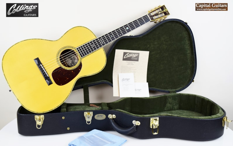 2008 Collings 000-42 BaaaG Varnish 12-Fret Natural with Aging Toner, Excellent, Original Hard