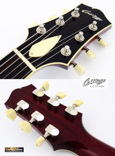 2008 Collings I-35 Deluxe Brazilian Crimson