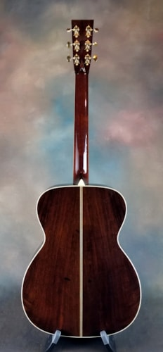 2008 Collings OM2H Custom Brazilian Sunburst