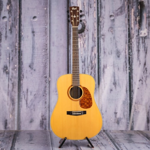 Used 2008 Cort Earth 100 Dreadnought, Natural