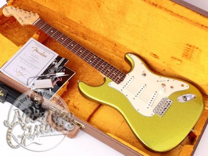 2008 Fender® Custom Shop Dick Dale Signature ST  Gold Sparkle, Excellent, Original Hard, Call For Price!