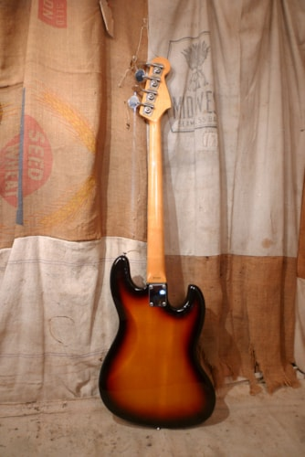 2008 Fender Jazz Bass Lefty (1962 reissue) Sunburst