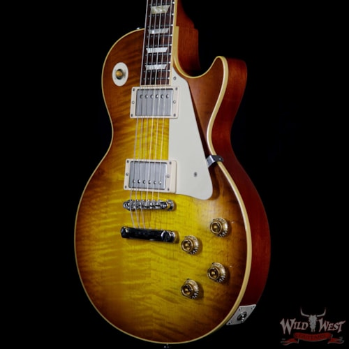 2008 Gibson 2008 Gibson Custom Shop R9 `59 Les Paul Historic 1959 Reissue Ice Tea 8.55 LBS Ice Tea
