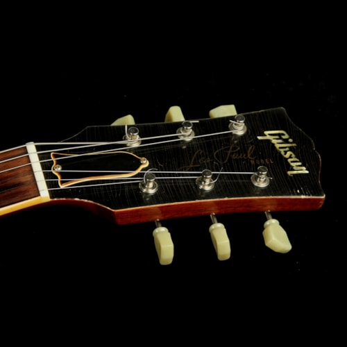 2008 Gibson Custom Shop Used 2008 Gibson Custom Shop Murphy Aged Historic 1959 Les Paul Electric Guitar Washed Cherry Excellent, $5,899.00