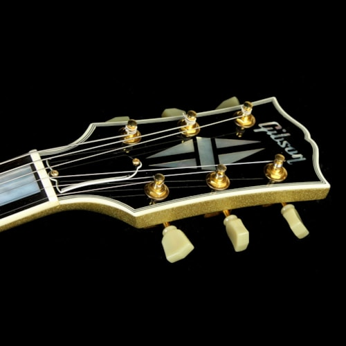 2008 Gibson Custom Shop Used 2008 Gibson Custom Shop SG Custom Electric Guitar Gold Sparkle Excellent, $2,499.00