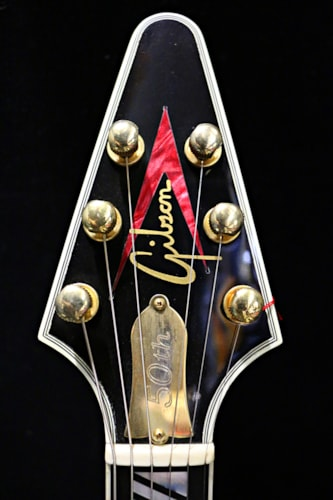 2008 Gibson Flying V 50th Brimstone Burst, Very Good, Original Hard, Call For Price!