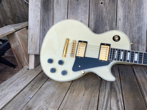 2008 Gibson Les Paul Custom, Custom Shop White