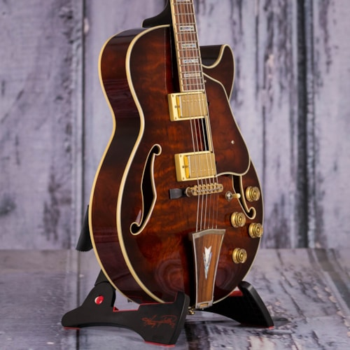 Used 2008 Ibanez AG95 Artcore Hollowbody, Dark Brown Sunburst