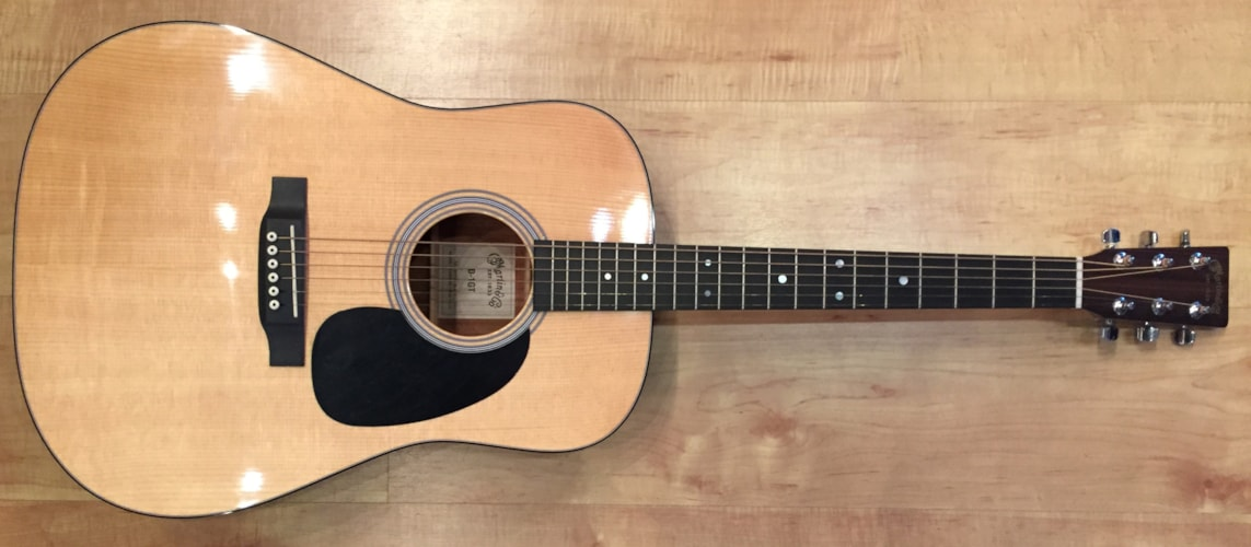 2008 Martin D-1GT Dreadnought Acoustic Guitar Natural, Brand New, Hard