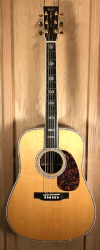 2008 Martin D-45 Natural, Brand New, Original Hard