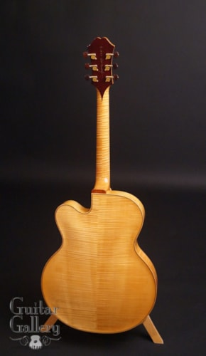 2009 Benedetto Floral Manhattan Archtop on SALE