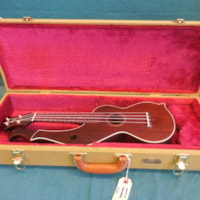 2009 black bear harp ukulele