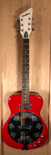 2009 EASTWOOD Airline Folkstar Red, Near Mint, GigBag