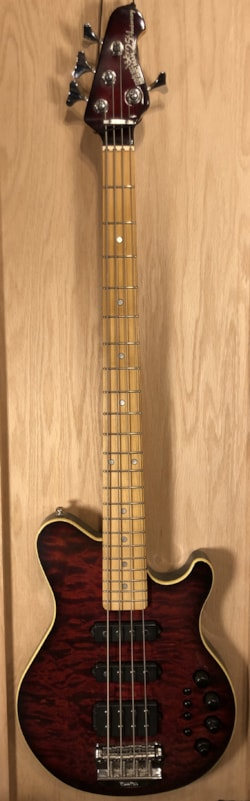 2009 Ernie Ball Music Man 25th Anniversary Reflex Bass