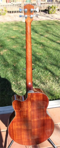 2009 Fender GB-41SCE Acoustic/Electric Bass Natural, Brand New, $576.99