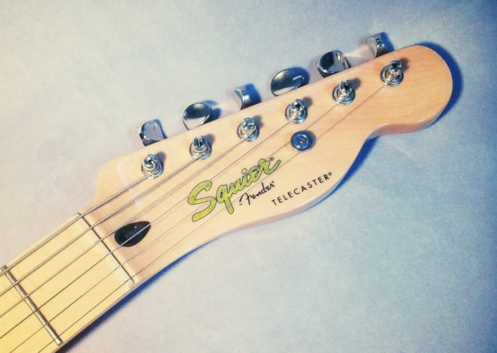 2009 Fender Squier '69 Thinline Telecaster - Vintage Modified Natural, Very Good, $299.00