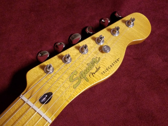 """2009 Fender® Squier® """"Classic Vibe"""" Telecaster® 50's Butterscotch Blonde, Excellent, GigBag, $299.00"""