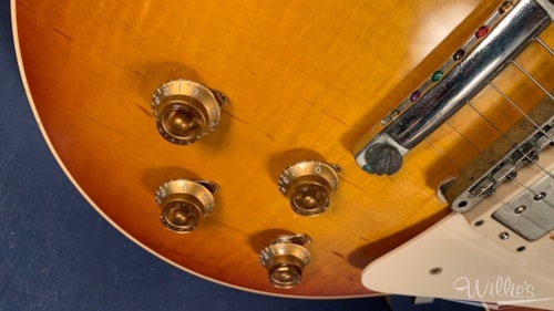 """2009 Gibson Custom Billy Gibbons VOS """"Pearly Gates"""" Artist Proof #5"""